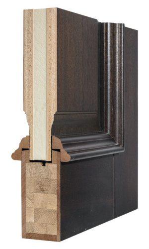 Конструкция двери классика
